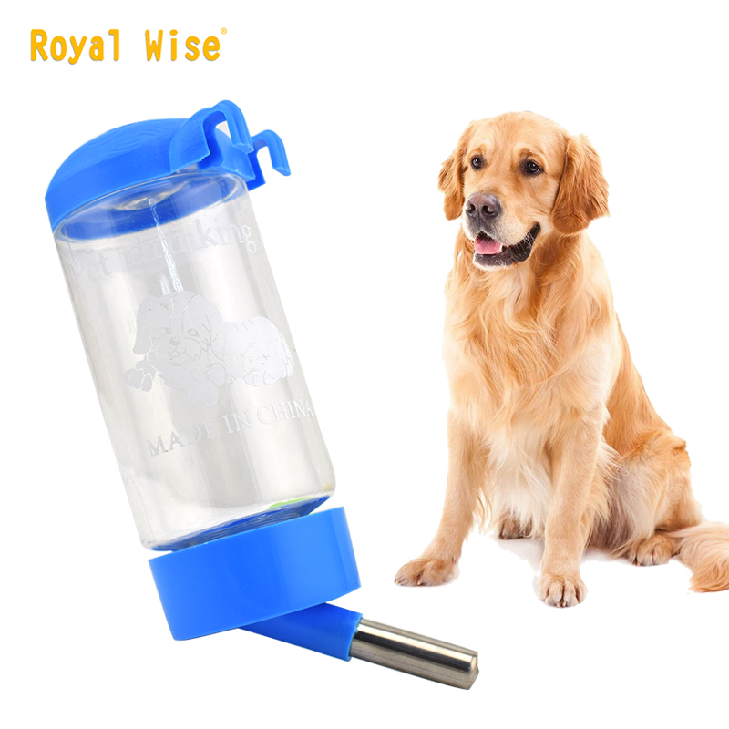 500ml Dog Cat Water Drinker Hanging Bottle Dispenser Rabbit Auto Feeder et Feeding Watering Supplies(China)