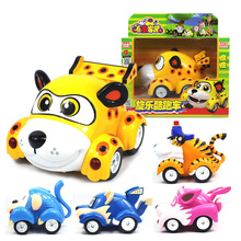 Large Size  Electronic Cars Vroomiz Classic Kawaii South Korea Cartoon Toys For Children gift Baby brinquedo
