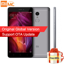 "Global Version Xiaomi Redmi Note 4 Mobile Phone 4GB RAM 64GB ROM Snapdragon 625 Octa Core 5.5"" FHD 13MP Fingerprint MIUI 8.1 CE"