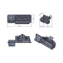 For BMW 320I 330I X1 335I X5 X6 35 series E60 Car Parking CCD Rearview backup reverse Camera welcome to order in wholesale price(China)