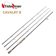 2.1m 2.4m Top quality spinning baitcasting fishing rod Three 3 tips three actions L/MH/M carbon casting carp fishing rod