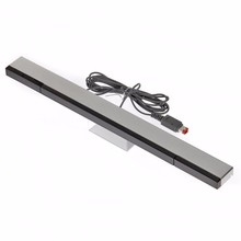 Newest Remote Wired Infrared Receiver For Wii IR Signal Ray Wave Sensor Bar For Nintendo Wii Wireless Controller Game Console