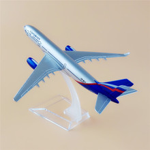Alloy Metal Air Aeroflot Russian Airlines Airbus A330 Airways Airplane Model Plane Model With Stand Aircraft For Kids Toys Gift(China)