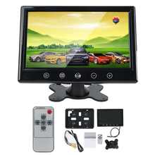 Liplasting 9 inch Touchscreen LCD Car Monitor Computer HD Digital TFT Color Monitors AV Support as Computer Screen