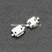 10pcs 5pin Female Micro USB Connector, SMD 2 Fixed feet, Widely used in tablet, phones and PDA