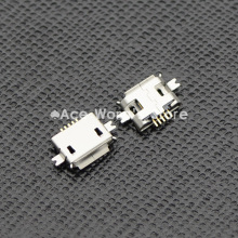 10pcs 5pin Female Micro USB Connector, SMD 2 Fixed feet, Widely used in tablet, phones and PDA(China)