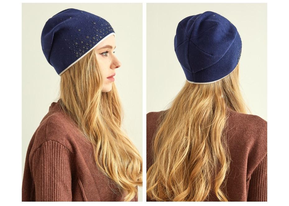قبعات للنساء 17