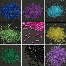 1000 pieces Festival 4.5mm Acrylic Crystals Diamond Confetti Event Party Centerpiece Supplies Wedding Table Scatters Decoration(China)