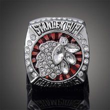 2013 Stanley Cup Finals Replica Chicago Blackhawks Ring Cool Hockey Sports Jonathan Toews Ring Men J02121