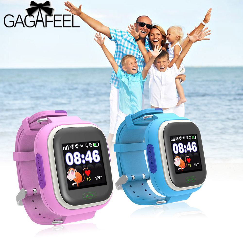 GAGAFEEL Kids GPS Tracker Smart Watch with WIFI Touch Screen Children SOS Call Anti Lost Monitor Smart Watches for IOS Android<br><br>Aliexpress