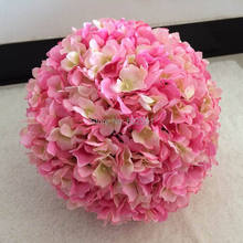 Inner dia.13cm Outside dia.26cm Watercress hydrangea wedding kissing flower ball bride bouquet decoration 4pcs/lot FREE SHIPPING