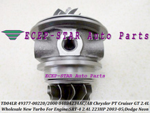 Turbo Cartridge CHRA TD04LR 49377-00220 49377-00200 04884234AC AB For Chrysler PT Cruiser GT For Dodge Neon SRT-4 03-05 EDV 2.4L