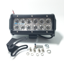 "1pc 7"" 36W LED Work Light Bar Lamp Tractor Boat Off-Road 4WD 4x4 12v 24v Truck SUV ATV Spot Flood Super Bright"