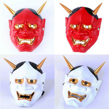 Halloween ghost masks Japan's first high-grade resin mask Wisdom Collector's Edition delicate topic mask(China)