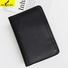 Buy 2pcs/set Unisex RFID Blocking Passport Wallet Women PU Leather Multifunctional Credit Card Holder Passport Card Men Wallets for $11.89 in AliExpress store