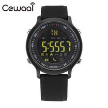 Cewaal 2017 Sport Wrist Smart Watch Fitness Activity Monitor Pedometer Watch for Android ios Connected phone with Remote Camera