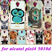 Silicon Phone Cover Case For Alcatel OneTouch Pixi 4 5'' OT-5010 5010D 5010X 3G Version One Touch Pixi4 (5) Bag Shell Case cover