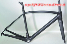 Japan Toray Material T800 Full carbon road bike frame dengfubike 700C ultralight carbon bicycle frame di2 compatible 25c tyre(China)