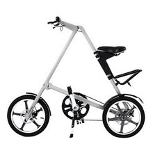 14 / 16 inch Universal Folding Bicycle Aluminum Alloy Bike Wheels Portable Bicycle Scooter For Kids Adults Drop Shipping(China)