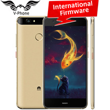 "International Firmware Huawei Nova 4G LTE Mobile Phone 4GB 64GB MSM8953 Octa Core 2GHz 5.0"" 1920X1080px Dual SIM 12MP 3020mAH(China)"