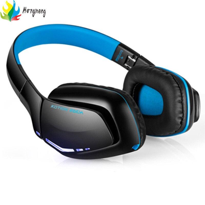 2017 Sale Earphone Bluetooth Headphone Kotion Each B3506 Bluetooth4.1 Stereo Gaming Headphone Headset Foldable Mic For Gamer <br>