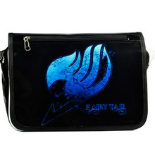 Fairy Tail Bags Japan Animation Cosplay Shoulder Bag Men and Women Messenger Bags Laptop Crossbody Bags(China)
