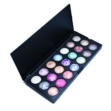 GUJHUI 21 Colors Eyeshadow For Eyes Makeup Magic Color Bright Palette Make up Palette Waterproof  Makeup Cosmetics Makeup