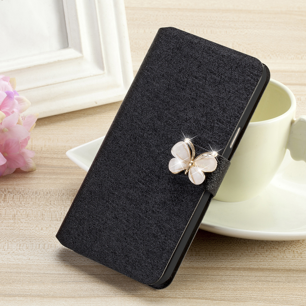 Luxury PU Leather Cover Case For Samsung Galaxy J1 J100 J100F Case Flip Protective Phone Back Cover Wholesale and Retail(China)