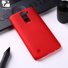 Oil-coated Rubber Matte Hard Phone Case For LG K7 LTE Tribute 5 LS675 Q7 LTE MS330 5.0 inch K7 Dual SIM K7 M1 Cover Bags Hood