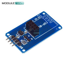 ESP8266 ESP-01 ESP01 Serial WiFi Wireless Adapter Module 3.3V 5V Compatible Serial Board For Arduino UNO R3 Microcontroller One(China)