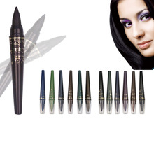 Magic 6 Colors Cosmetics Makeup Pen Waterproof  Shimmer Eye Shadow Makeup Pearl Eyelip Shadow Pencil Pen Dark And Light Hot Sale