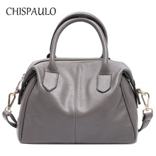 CHISPAULO Woman Bags 2017 Bag Luxury Brand Patent Women Handbags Fashion Women's shoulder crossbody Messenger Shopping Bags X65(China)