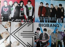 8 pcs/set different designs A3 Posters Popular Korean KPOP brand Bigbang G-DRAGON T.O.P Paintings Wall Pictures Wall Sticker