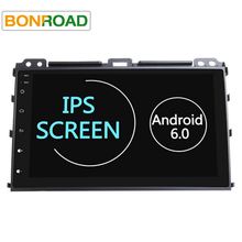 Bonroad Quad Core Android 6.01 Car DVD GPS Player for Prado 120  2 Din Car Radio Video Player with 1G RAM 16G ROM Full Touch