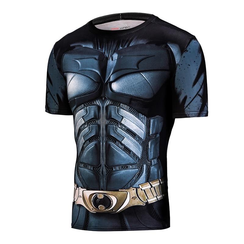 3D-Gedruckt-T-shirts-Men-Compression-Hemd-Raglan-Kurzarm-Crossfit-Fitness-Tuch-Tops-M-nnlich-Cosplay