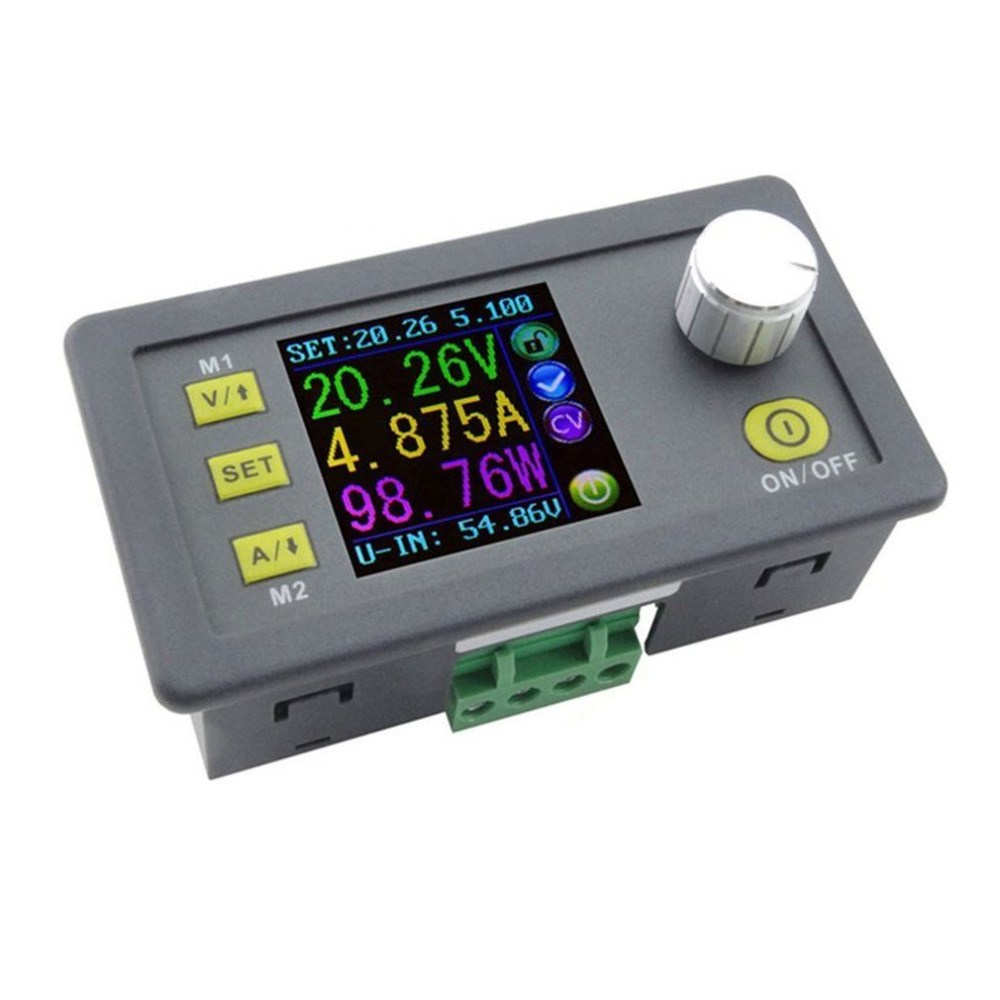 DPS5005 Direct-current Communication Function Constant Voltage Step-down Power Supply Module Voltage Converter Voltmeter<br>