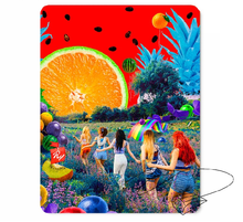 New kpop Red Velvet The Red Summer The Same rubber mouse pad 260*210mm