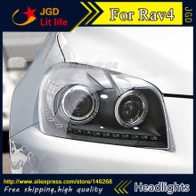 Free shipping ! Rio LED headlights headlamps HID Hernia lamp accessory products For Toyota RAV4 2009-2013 car accessories