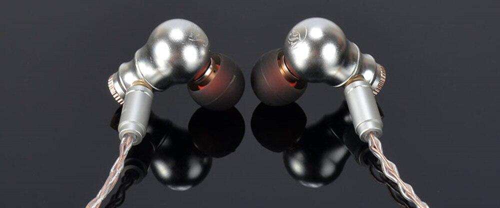 New Arrival TONEKING MusicMaker Nine tail In Ear Dynamic Earphone DIY HIFI Fever Metal Bass Earphone With MMCX Interface