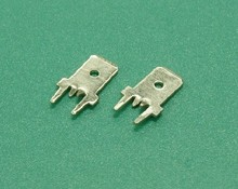 (6.3mm center opening) terminal / lug / PC board soldering terminal / terminal / plug spring / male terminal