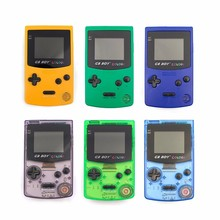 GB Boy Colour Color Handheld Game Consoles Game Player With Backlit 66 built-in Games Yellow Blue Purple Green(China)