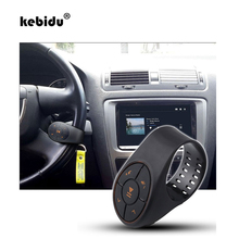 kebidu New Wireless Bluetooth Receiver Auto Bluetooth Car Kit for Motorcycle Bicycle Handlebar Steering Wheel Installation(China)