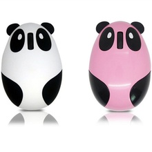 Brand Creative Panda Cartoon Slim Mini USB Wireless Mouse 1600DPI Optical Gaming Mouse Mice For PC Laptop Win 7 Vista XP