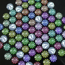 20mm Size 10pcs Mixed color Round Glass Dome Cabochon Jewelry necklace pendant bracelet earrings glass accessories