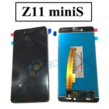 "5.0"" ZTE nubia Z11 mini/miniS LCD Display Touch Screen Digitizer Assembly Replacement Parts FHD For 5.2"" ZTE Z11 mini S LCD(China)"