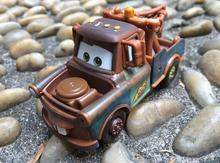 arros2 Pixar Cars 2 Brio tractor models Metal miniatures 1:55 Brinquedos Menino children 6 years old toy car Lightning McQueen(China)