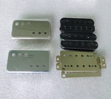 Free Shipping N&B a set LP guitar pickup kits Nickel silver pickup cover and baseplate