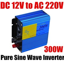 best selling hot sale pure sine wave power inverter 300W inverter DC 12V to AC 220V 300 Watt 50HZ