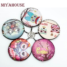 Miyahouse New Fashion Women Coin Purse Lovely Kawaii Cartoon Printed Coin Pouch Lady Girls Mini Wallet Creative Coin Bag(China)