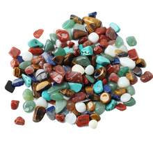 1 Bag 100g Colorful Mixed Various Irregular Shape Tumbled Stones Rock Gem Beads Chips Homen Decoration Art Ornaments 1-2.5cm